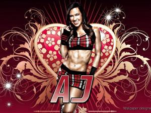 WWE Diva AJ Lee Pics