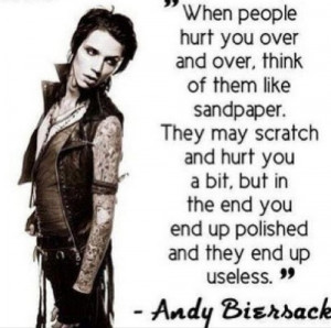 Black Veil Brides Andy Sixx Quotes