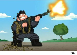 Peter Goes to War Against the Amish on 'Family Guy' (