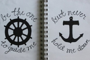 anchor quote...not this exact as pictured but love the quotes as ...