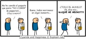 Voy a Morir? - Imagenes Graciosas | Viñetas Cyanide and Happines ...