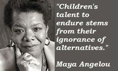 The resilience of children... More
