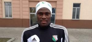 Babangida trenuje razem z Legi