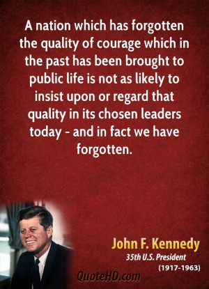 John Kennedy Quotes On Leadership