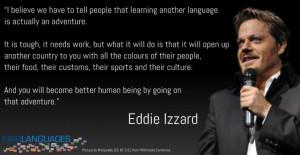 Eddie Izzard Quotes Eddie Izzard Language Champion
