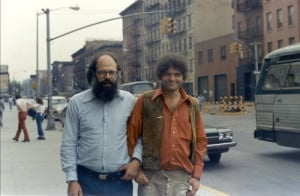 Allen Ginsberg & Gregory Corso