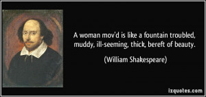 Thick Women Quotes A woman mov'd is like a