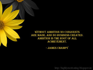 Motivational Wallpaper - James Champy Quote