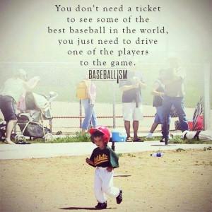 Baseball mom love