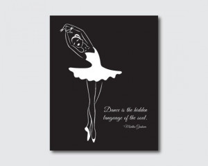 Dance is the hidden language of the soul by SusanNewberryDesigns, $15 ...