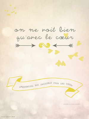 LITTLE PRINCE QUOTES IN FRENCH