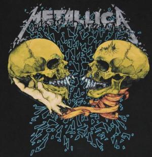 Metallica Pushead Sad But True Vtg metallica sad but true i'm
