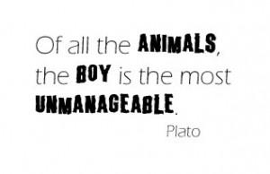 20 Decorous Quotes About Boys