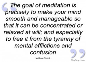 imagem the goal of meditation is precisely to matthieu ricard