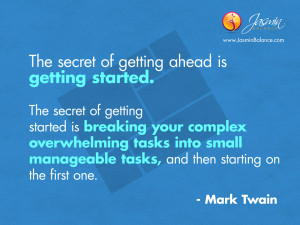 Inspirational Quote Mark Twain