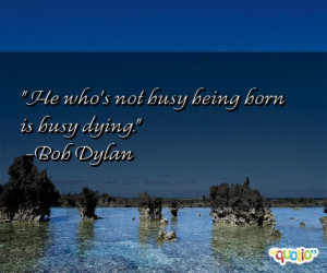 Busy Quotes