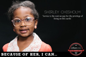 Shirley Chisholm 'Service is the rent we pay for the privilege of ...
