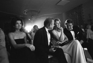 Eunice Kennedy Shriver, Bill Walton, Jacqueline Kennedy and Sargent ...