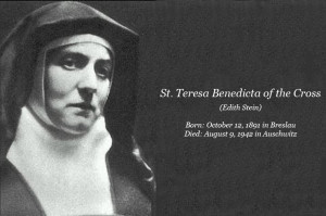 Catholic Quote of the Day — from St. Teresa Benedicta of the Cross