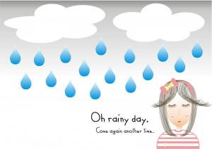 Rainy Day and Corel Draw