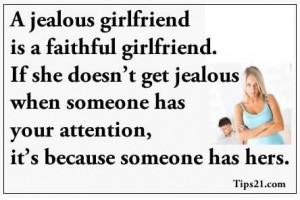 Your Jealous Girlfriend Quotes