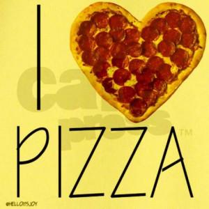 love pizza T-Shirt on CafePress.com
