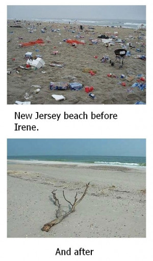 Funny photos funny Hurricane disaster New Jersey