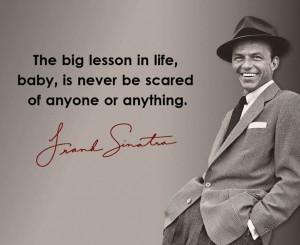 Frank Sinatra #quote
