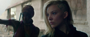 Patina Miller Natalie Dormer Mockingjay Part 1 Trailer
