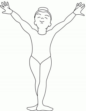 Best gymnastics quotes to color quotesgram for Gymnastic coloring pages
