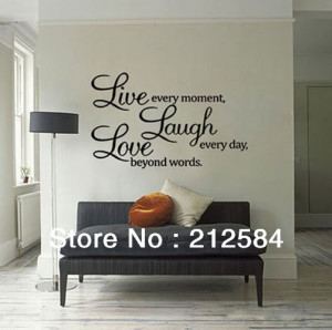 ... Quote-Words-Butterfly-Removable-Vinyl-Wall-Decal-Stickers-Room-Office