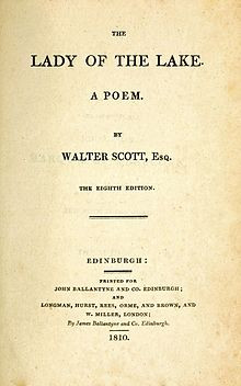 Title page to the eighth edition, 1810
