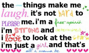 Girly Quote Picture
