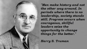 Harry s truman famous quotes 2