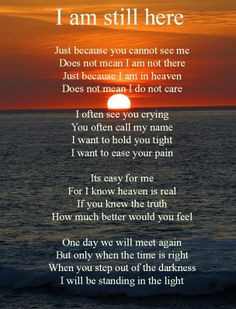 ... miss you so very much....Remembrance Poem www.keepsake-memorials.com