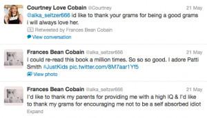 Frances Bean Cobain Calls...
