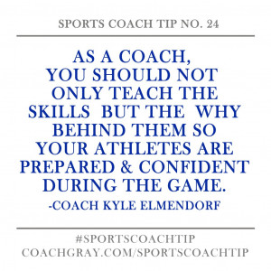 Sports Coaching Relationship Quotes
