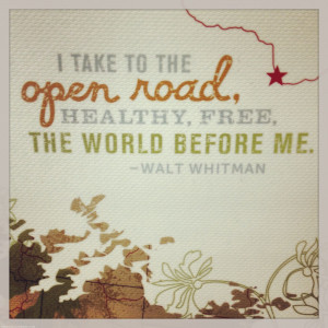 Walt Whitman Quote UT