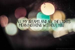 dreams, lana del rey, lights, lyrics, music, quotes, text, typography ...