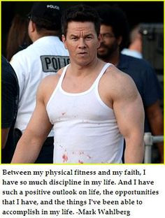 Marky Mark talks about physical fitness, faith, and discipline More
