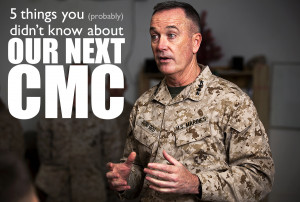 ... James F. Amos this fall. (U.S. Marine Corps photo by Sgt. Reece Lodder
