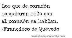 frases celebres de amor -Francisco de Quevedo #citas More