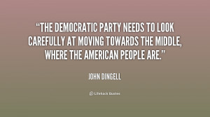 The Democratic Party needs to look carefully at moving towards the ...