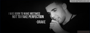 Drake quote Profile Facebook Covers