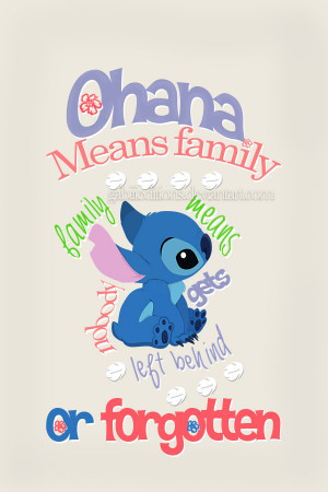Disney Stitch Quotes Lilo and stitch quote by