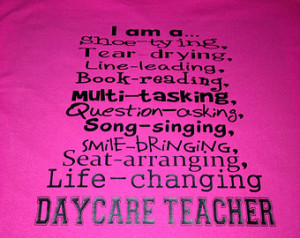 Am A Daycare Teacher Preschool Pr e-K t-shirt ...