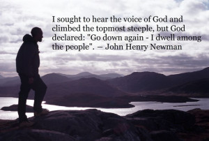 John Henry Newman, Catholic, saint quotes