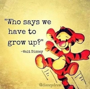 Growing up - Walt Disney