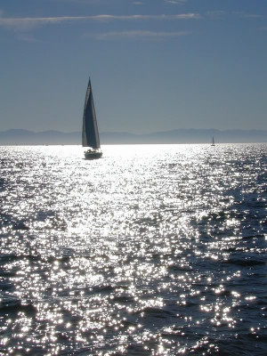 To me, nothing made by man is more beautiful than a sailboat under ...