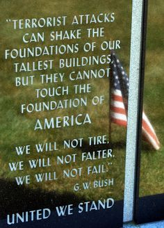 September 11 ~ Quote From President G. W. Bush More